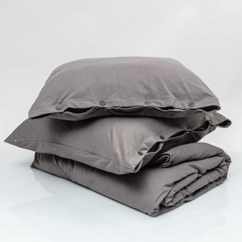 Cotton premium jersey bundles stone grey