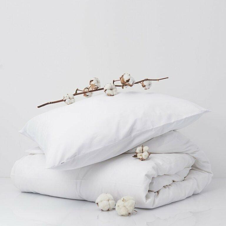 Cotton Percale Pillowcase Snow White 3