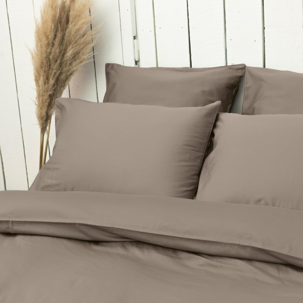 cotton sateen bedroom taupe 6