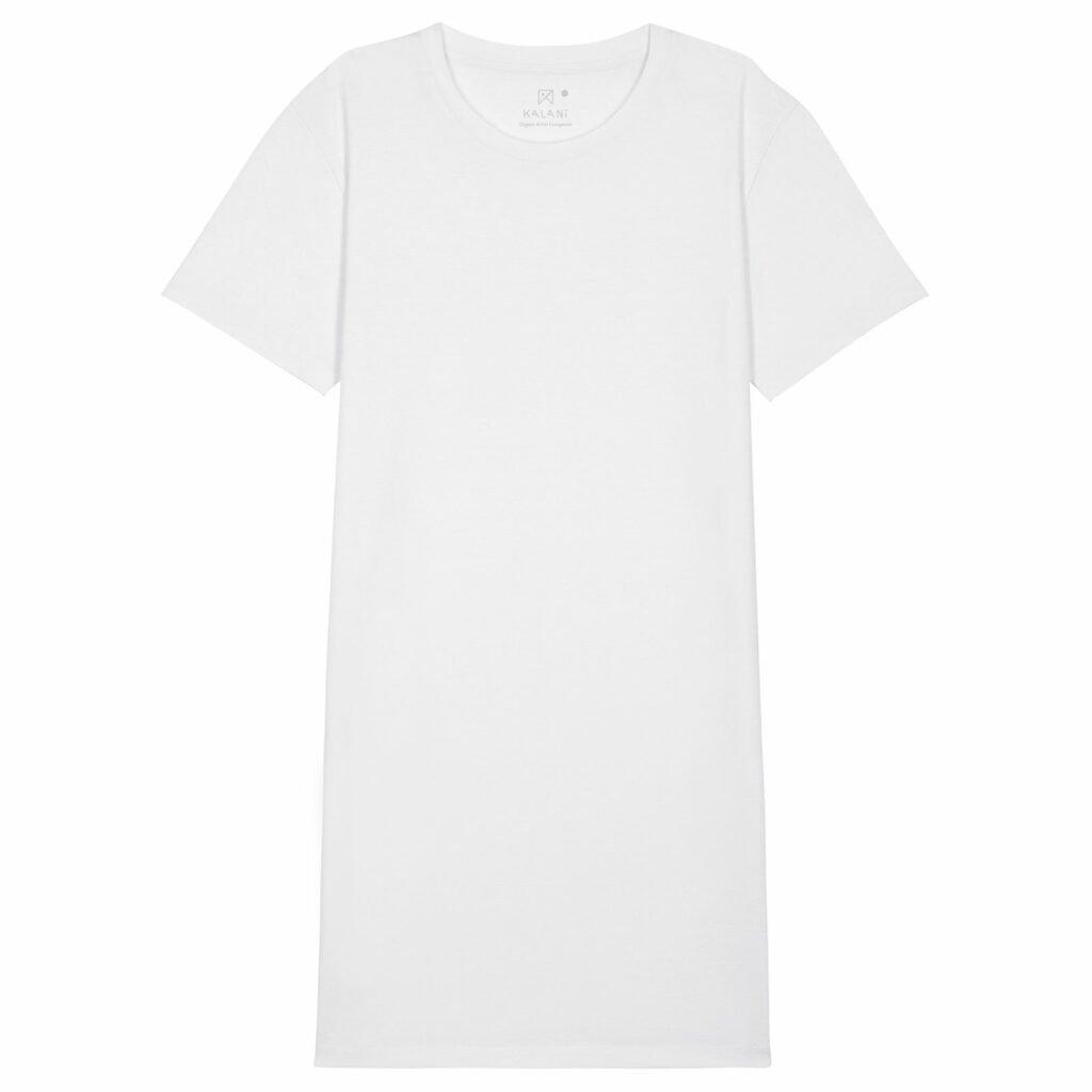 dress women organic w jersey dress organic w jersey dress white front