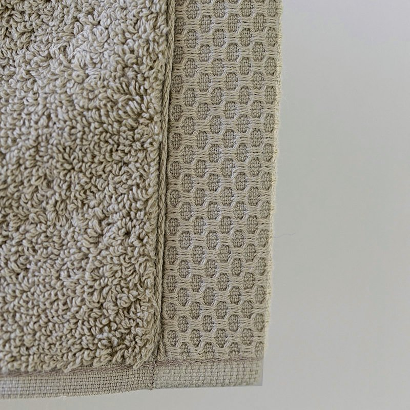 lluxury bath linen closeup sand 2