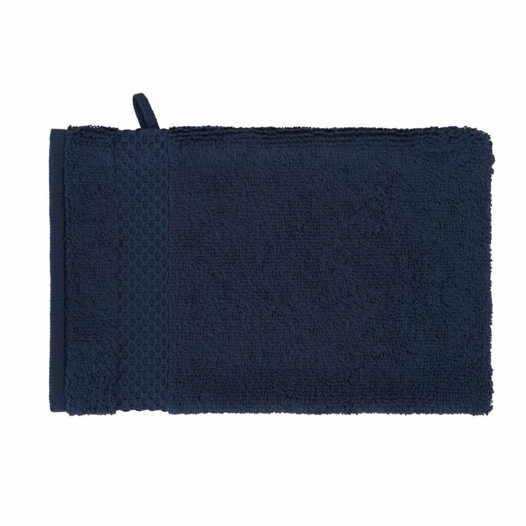 luxury wash glove duo navy 0