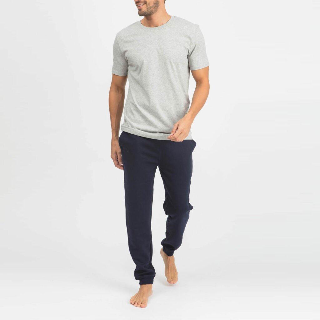 pants men organic relax pants organic relax pants french navy 3