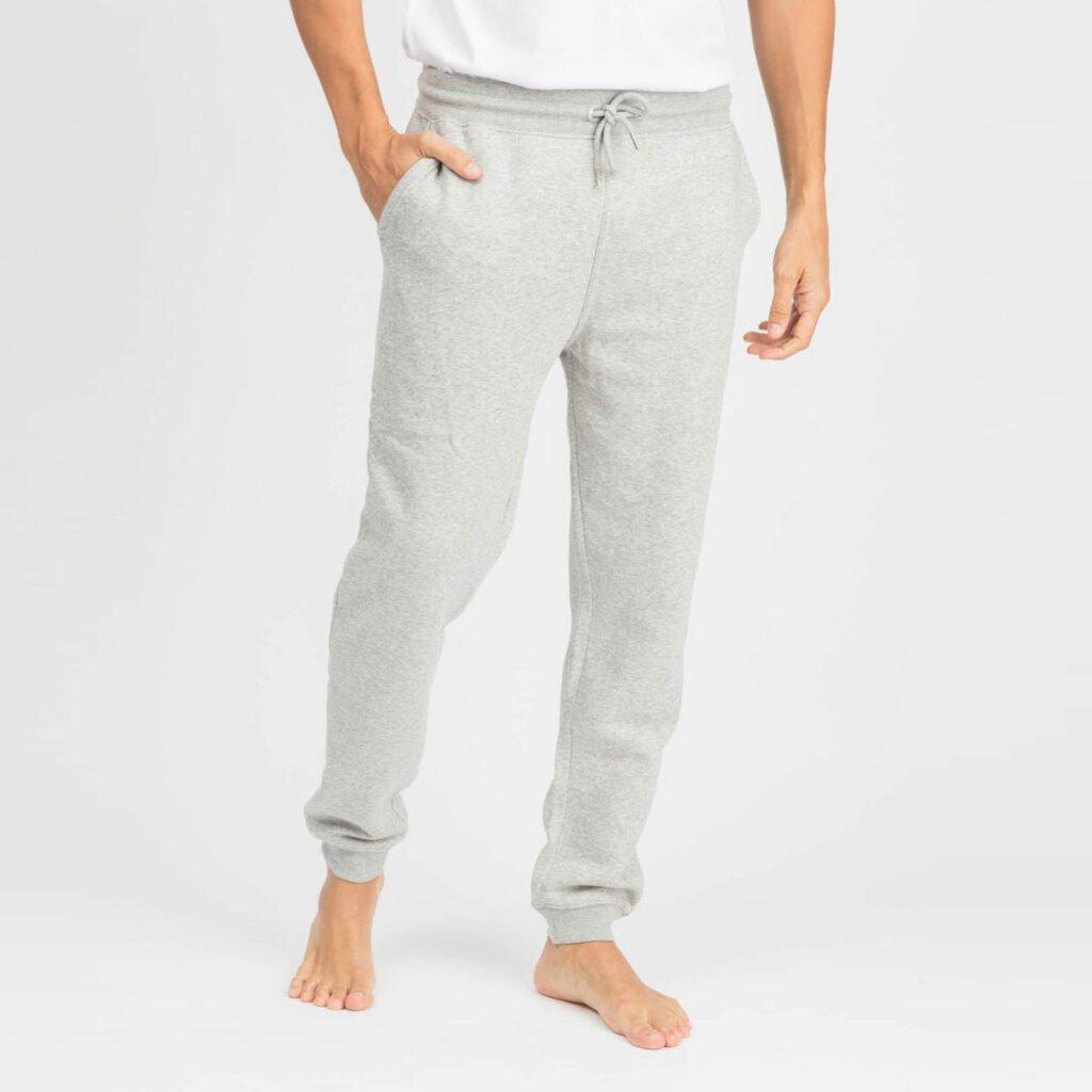 pants men organic relax pants organic relax pants heather grey 1