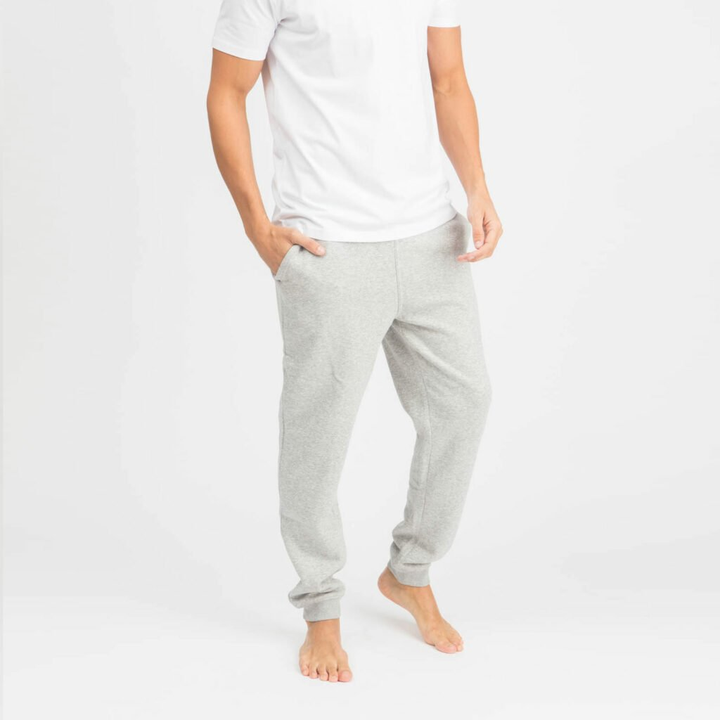 pants men organic relax pants organic relax pants heather grey 2