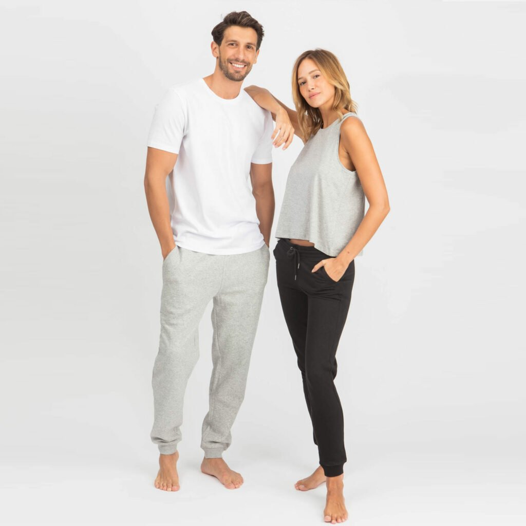 pants men organic relax pants organic relax pants heather grey 4