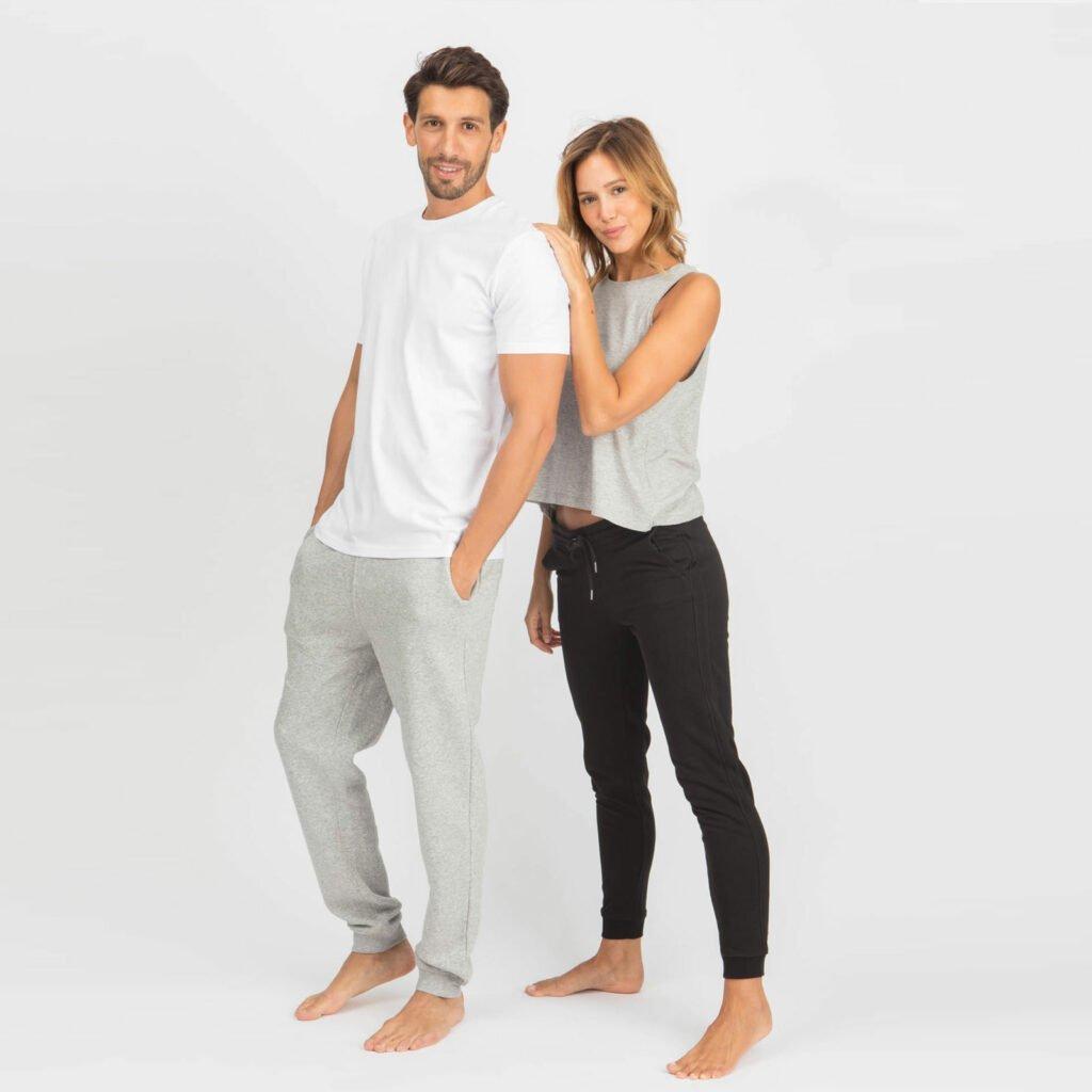 pants men organic relax pants organic relax pants heather grey 5