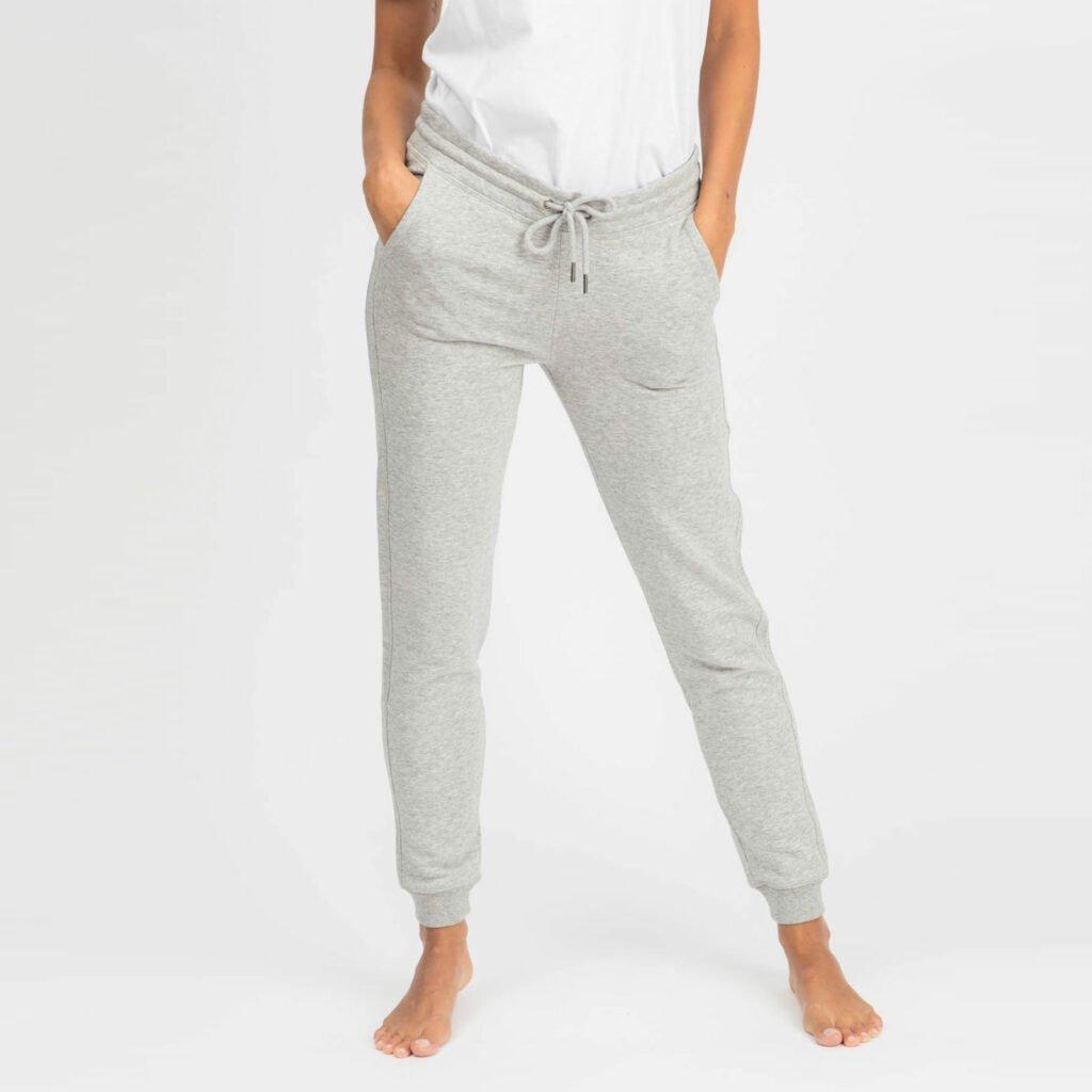 pants women organic w slim pants organic w slim pants heather grey 1