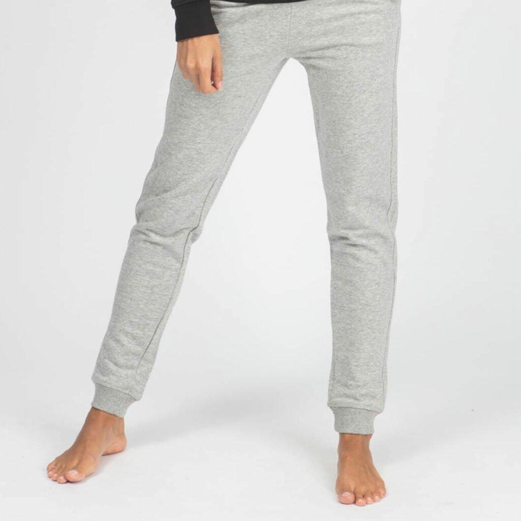 pants women organic w slim pants organic w slim pants heather grey 3