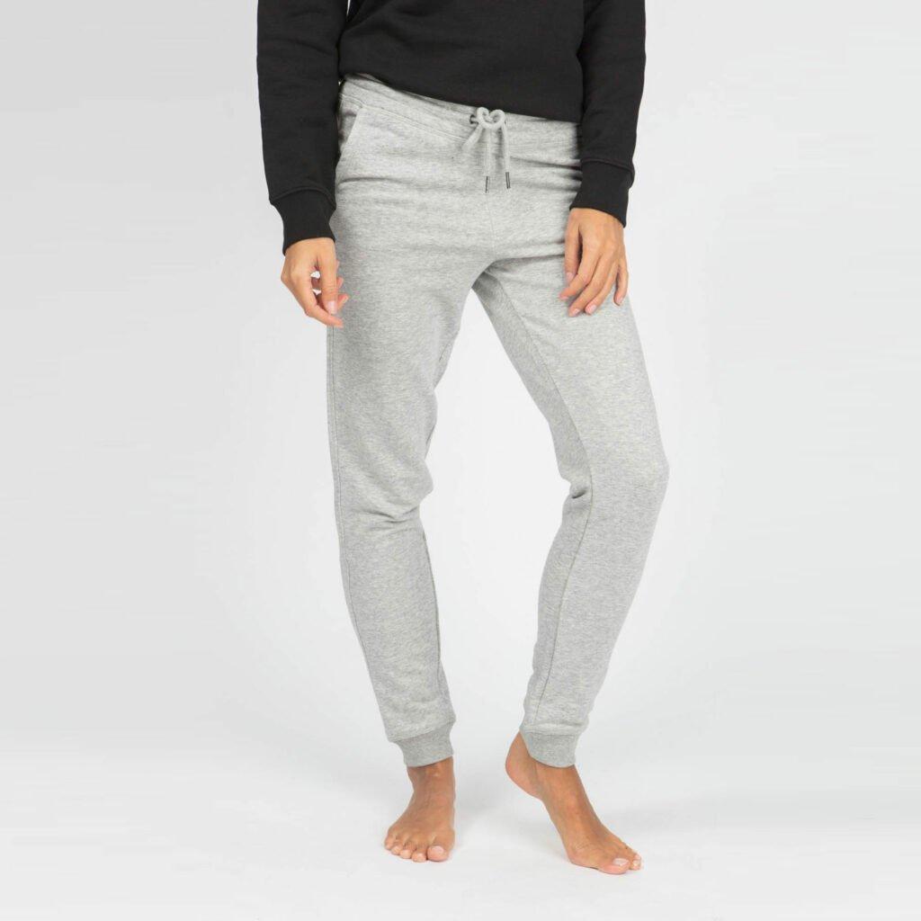 pants women organic w slim pants organic w slim pants heather grey 4