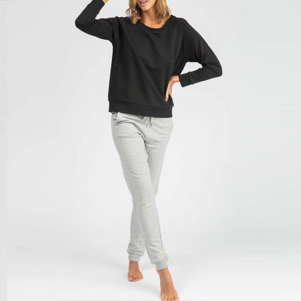pants women organic w slim pants organic w slim pants heather grey 7