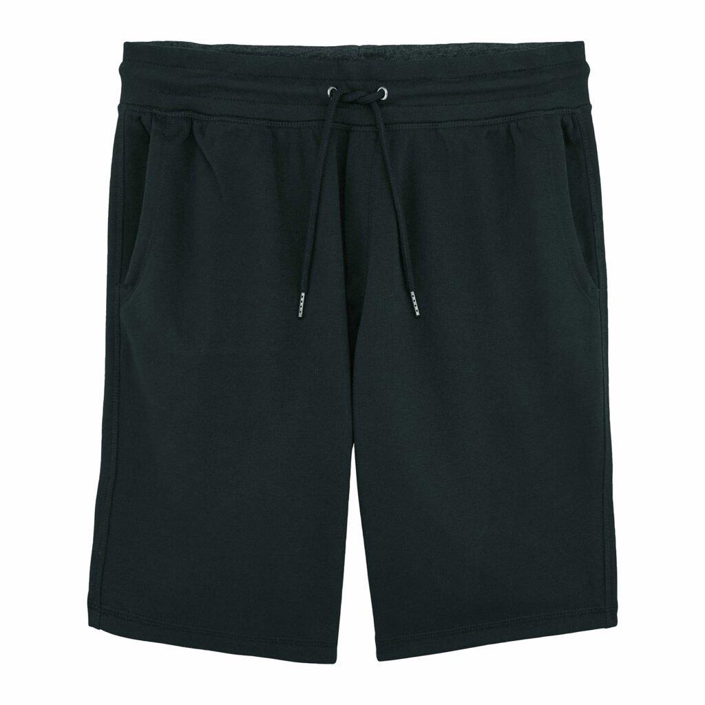 shorts men organic shortss organic shortss black front