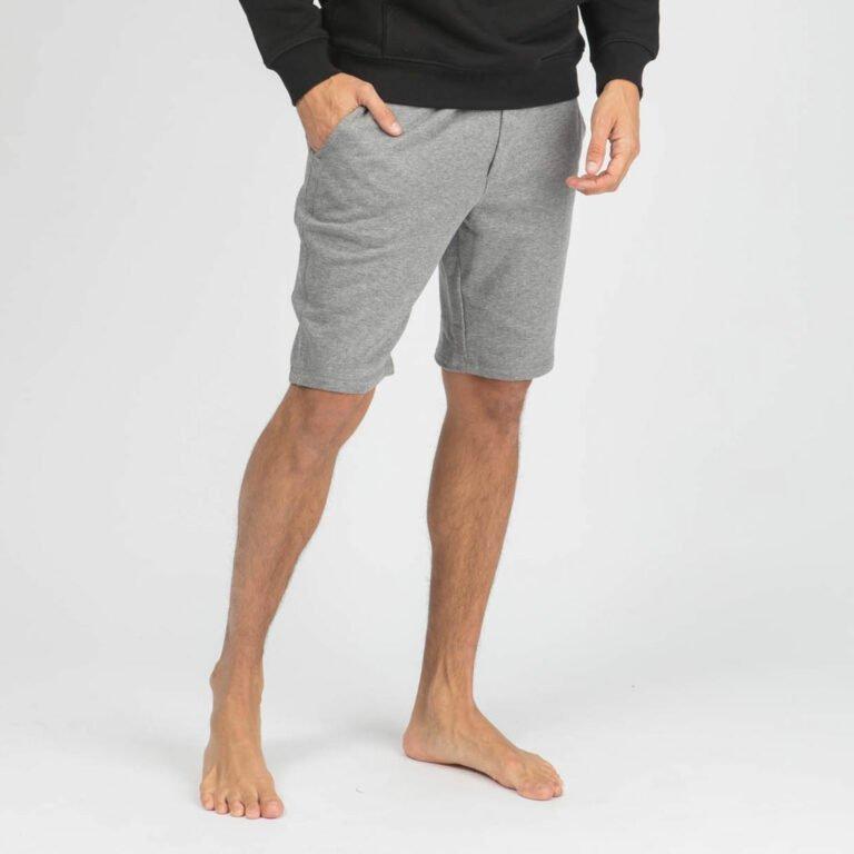 shorts men organic shortss organic shortss mid heather grey 4