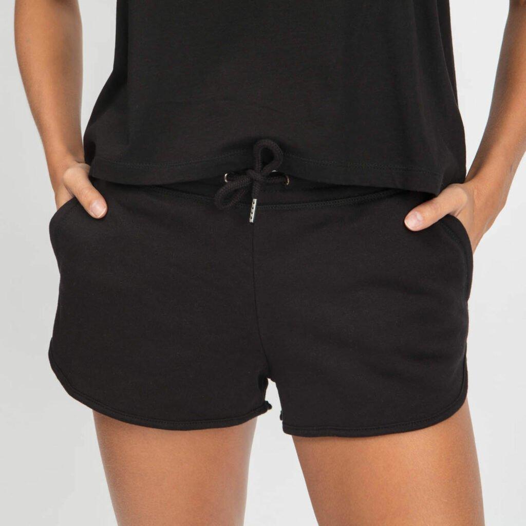 shorts women organic w shortss organic w shortss mid black 1