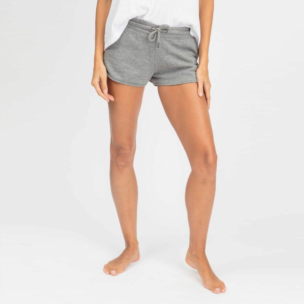 shorts women organic w shortss organic w shortss mid heather grey 5