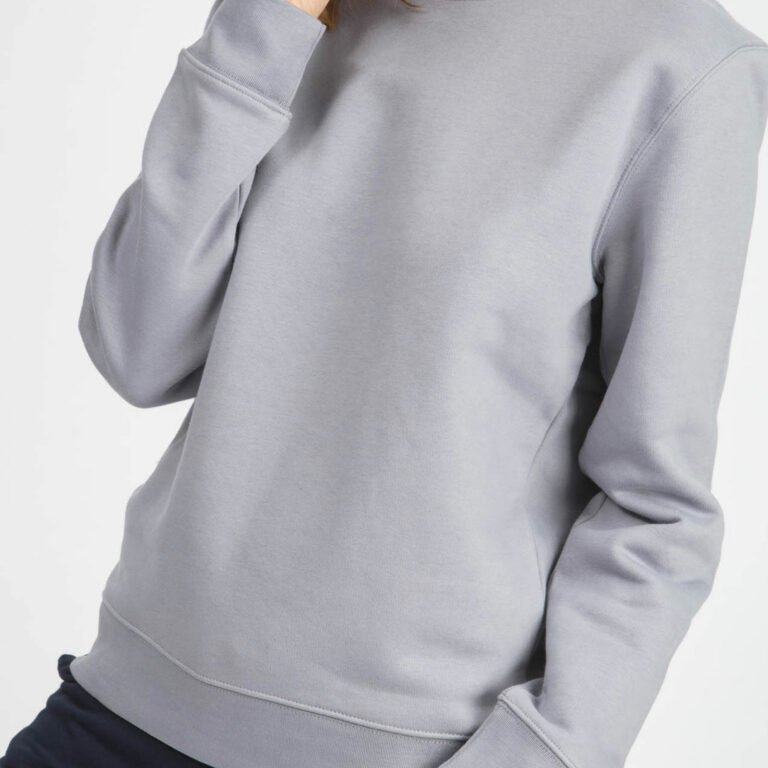 sweat unisex organic crewneck pullover organic crewneck pullover lava grey 2