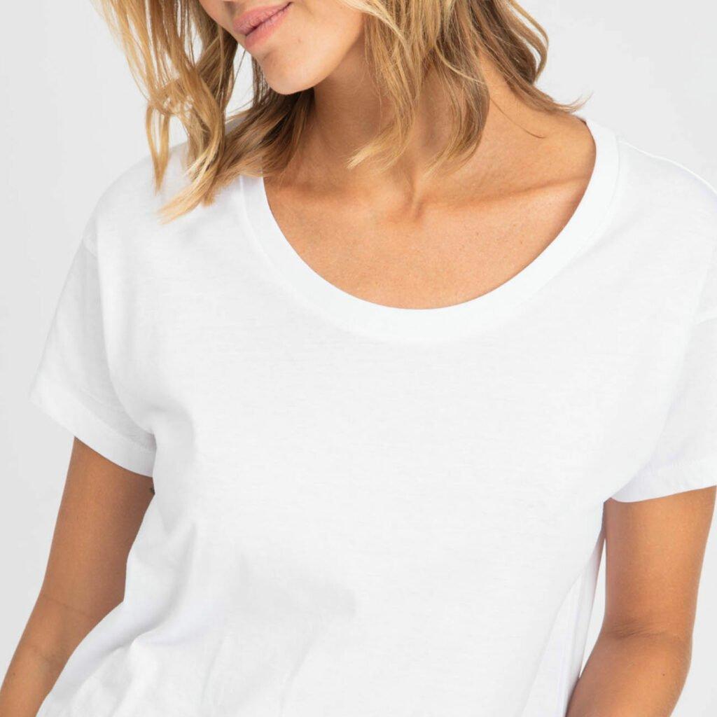 tee-women-organic w scoop neck tee organic w scoop neck tee white 2