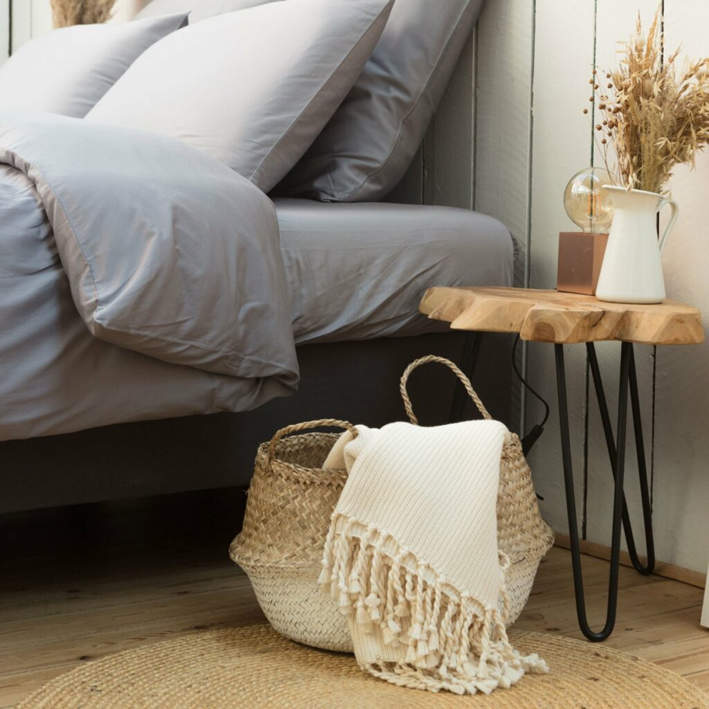 throw tuck with tassel natural 130x180 5